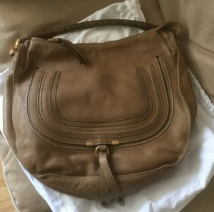 Chloe Marcie Hobo Tasche Large in Nut