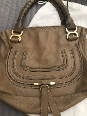 Chloé Bolso barrel color bronce