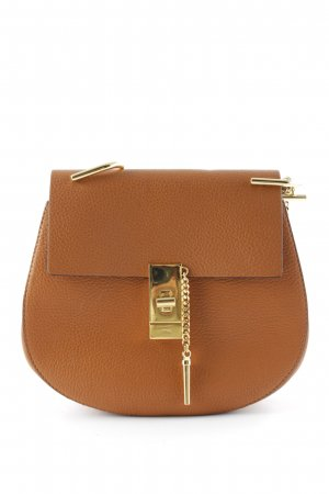 "Chloé Mini sac ""Drew Crossbody Bag Caramel"" rose chair"
