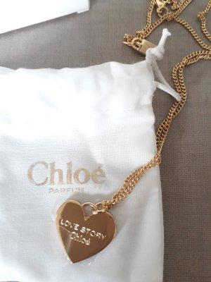 Chloé Modeschmuckkette gold, Goldkette, Halskette gold NEU