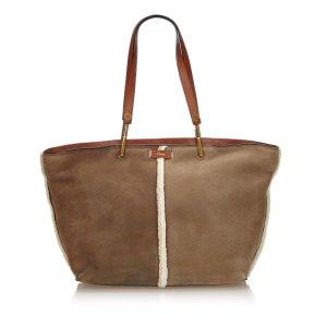 Chloe Mouton Keri Tote Bag
