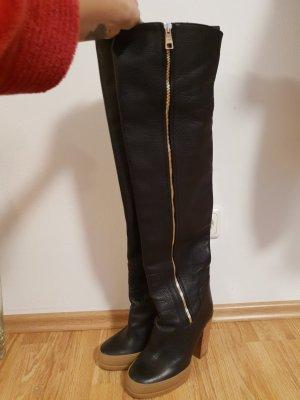 Chloé Snow Boots black-beige