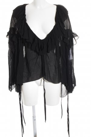 Chloé Oversized Blouse black Boho look