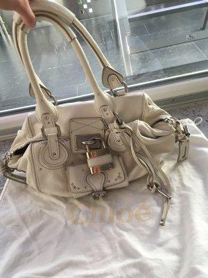 Chloé paddington Bag groß weiß neuwertig