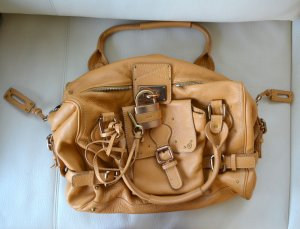 CHLOE Paddington IT-BAG XXL groß Camel/sand TOP Zustand!