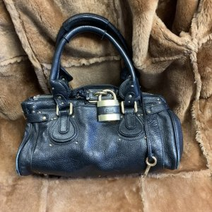 CHLOÉ Paddington Lock Bag schwarz