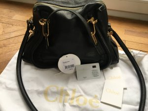 CHLOÉ Paraty Medium Black