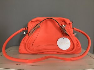 Chloé Paraty Medium in orange NEU