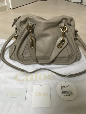 Chloé Paraty, Medium Size, Twilight Grey