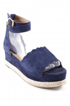 "Chloé Platform High-Heeled Sandal ""Blue Lagoon"""