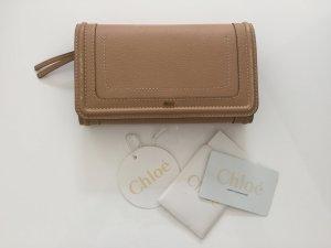 Chloé Portemonnaie Geldbörse Tasche WoC beige
