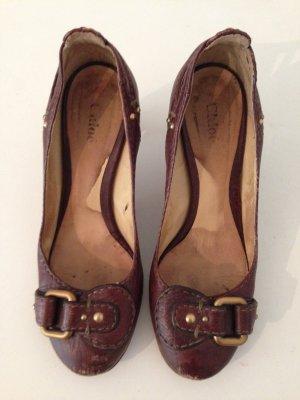 Chloé Escarpins brun cuir