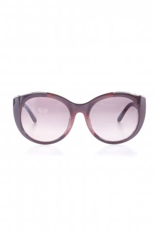 Chloé Retro Glasses bordeaux Decorative Elements