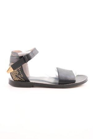 Chloé Riemchen-Sandalen schwarz Casual-Look
