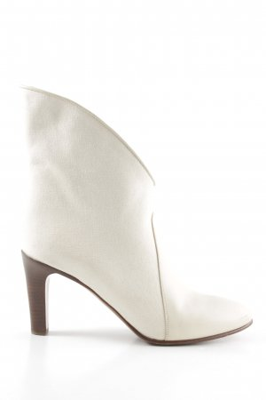 Chloé Schlüpf-Stiefeletten wollweiß-weiß Casual-Look