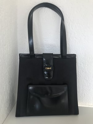 Chloé Shoulder Bag black-anthracite