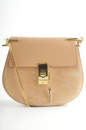 "Chloé Sac porté épaule ""Drew Shoulder Bag Blushy"" rose chair"