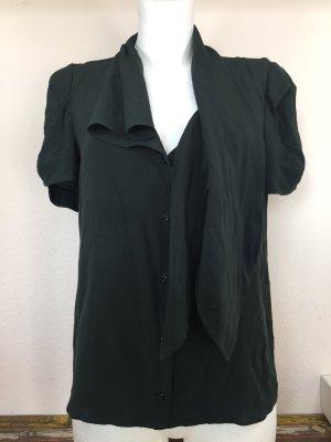 Chloé Seidenbluse Bluse Hemd Oberteil 34 36 S Seide Grün