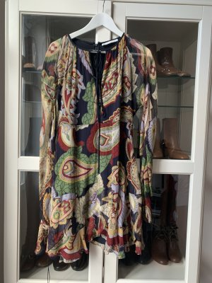 Chloé Chiffon Dress multicolored silk