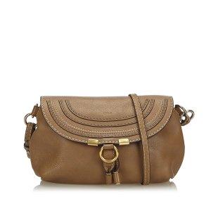 Chloe Small Leather Marcie Crossbody Bag