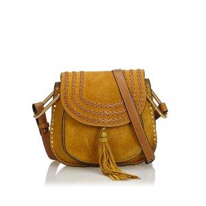 Chloe Small Suede Hudson Crossbody Bag