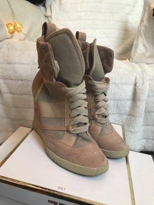 Chloe Sneaker Wedges Heels in nude Gr. 39