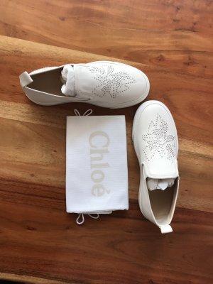 Chloe Sneakers Slippers Weiß Fashion