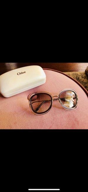 Chloé Round Sunglasses silver-colored