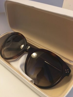 Chloé Sonnenbrille braun Gold wie neu