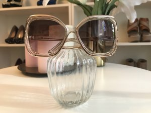 Chloé Angular Shaped Sunglasses gold-colored