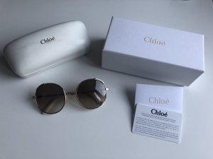 Chloé Round Sunglasses multicolored metal