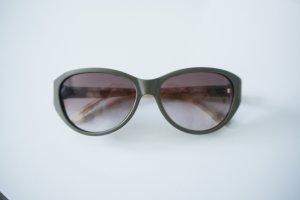 Chloé Sonnenbrille taupe Bügel marmoriert w. NEU