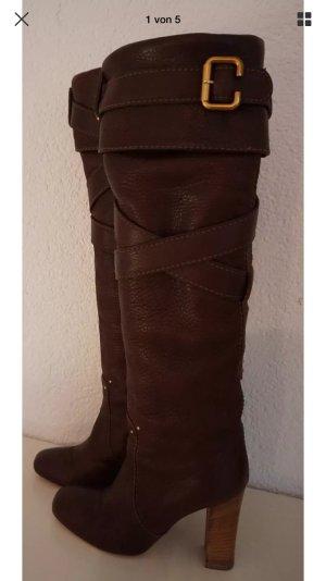 Chloé Stiefel leder designer boots
