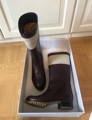 Chloé Stiefel Leder Größe 36