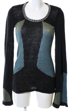 Chloé Maglione lavorato a maglia motivo grafico stile casual