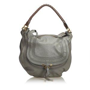 Chloe Studded Leather Marcie Handbag