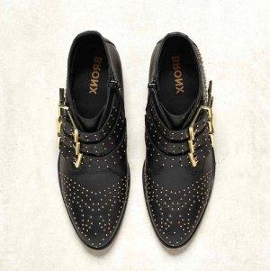 CHLOÉ Style ❤️ Bronx Leder-Ankle Boots mit Nieten Gr. 38 - neu!