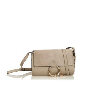 Chloe Suede Faye Crossbody Bag