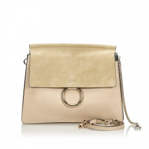 Chloe Suede Faye Shoulder Bag