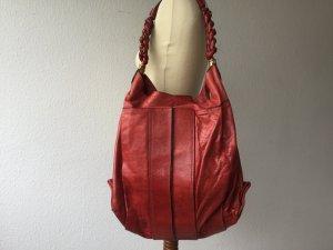 Chloé Tasche HELOISE Handtasche rot Leder Shopper
