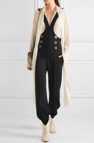 Chloé Overall zwart-goud Wol