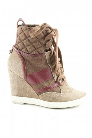 Chloé Wedge Sneaker Karomuster Casual-Look