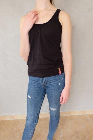 T-shirt de sport noir coton