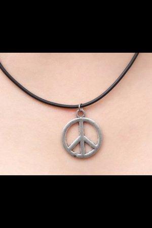 Choker Kette Peace Boho