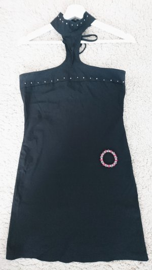 Tally Weijl Halter Dress black-silver-colored