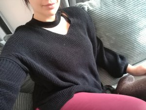 Choker Oversized Pullover
