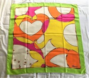 Chopard Foulard en soie multicolore soie