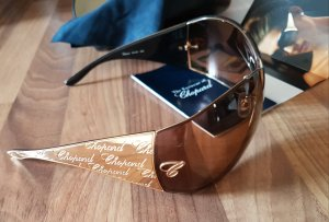 Chopard Sonnenbrille 23 Karat Goldplatte