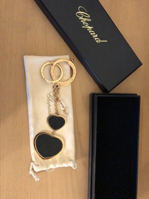 Chopard Key Chain black-gold-colored