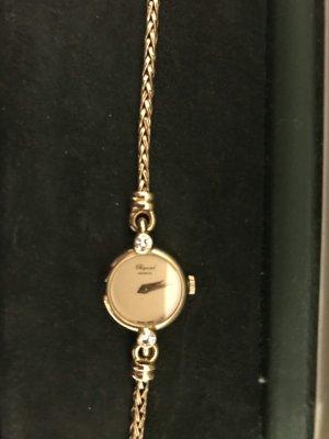 Chopard Reloj analógico color oro-amarillo